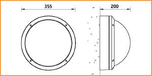 NBT 21 - габаритные размеры