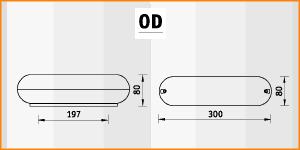 OD - габаритные размеры