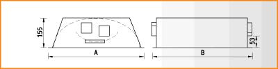 OTK/R - габаритные размеры