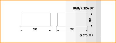 RGB/R 324 OP - габаритные размеры