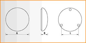 RKL - габаритные размеры