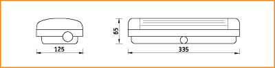 URAN - габаритные размеры
