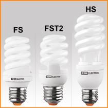 Энергосберегающие лампы спиралевидные TDM