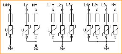 Схемы подключения ОПС1